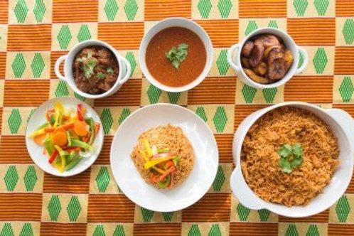 West African Cooking Class with street food guru 'Jollof Mama'