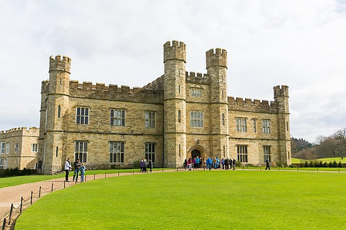 Leeds Castle, Canterbury Cathedral, Dover Day Trip