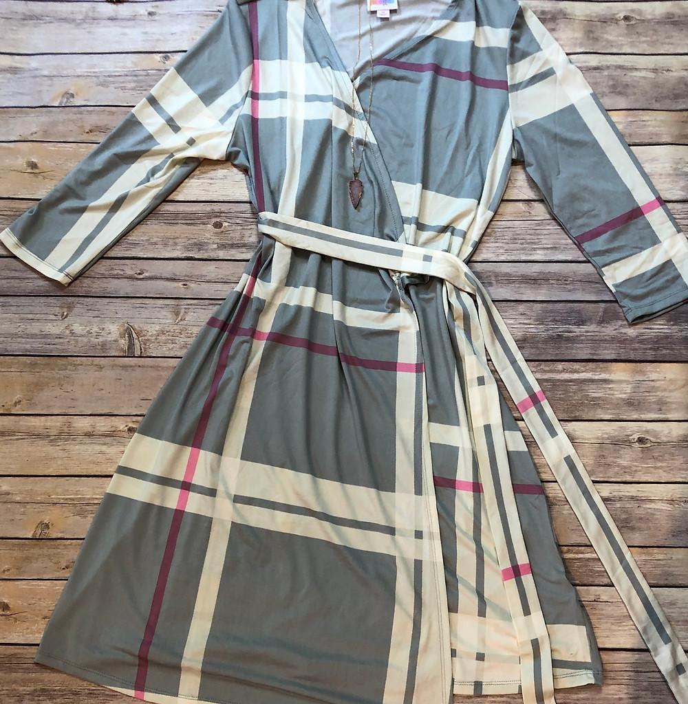 The New LuLaRoe Michelle  Wrap Dress