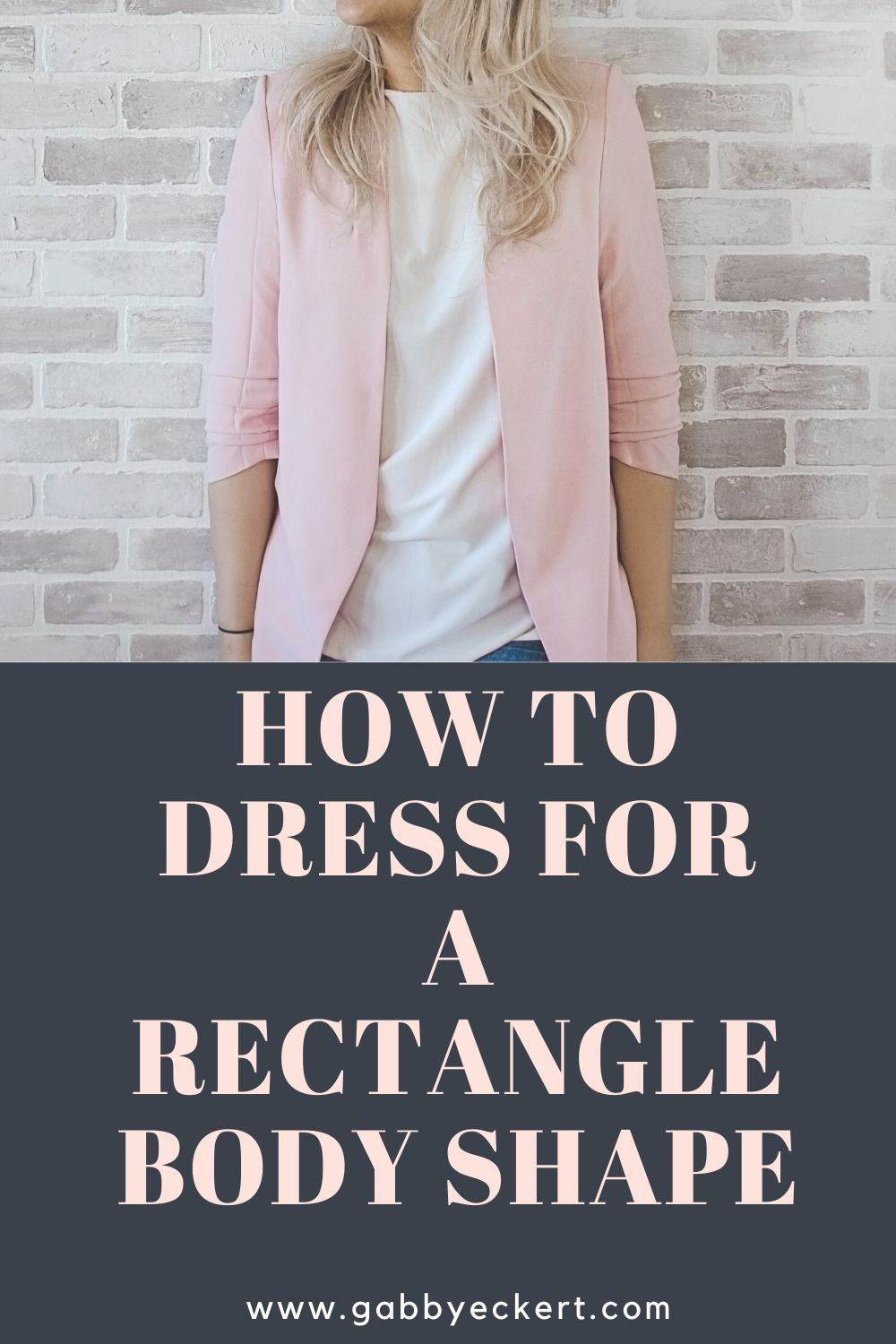 How to dress for a rectangle body shape
