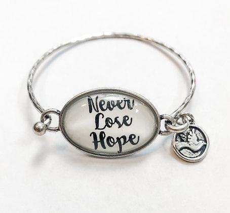 Never Lose Hope Bracelet