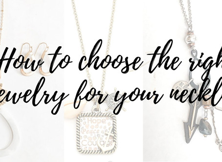 How to Choose the Right Jewelry for Your Neckline
