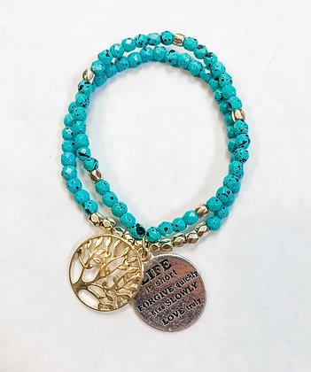 Turquoise Stack Bracelet