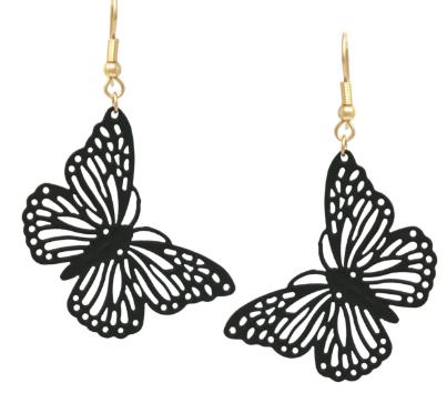 Monarch Butterfly Earrings