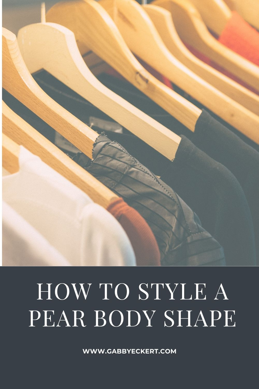 How to style a pear body shape