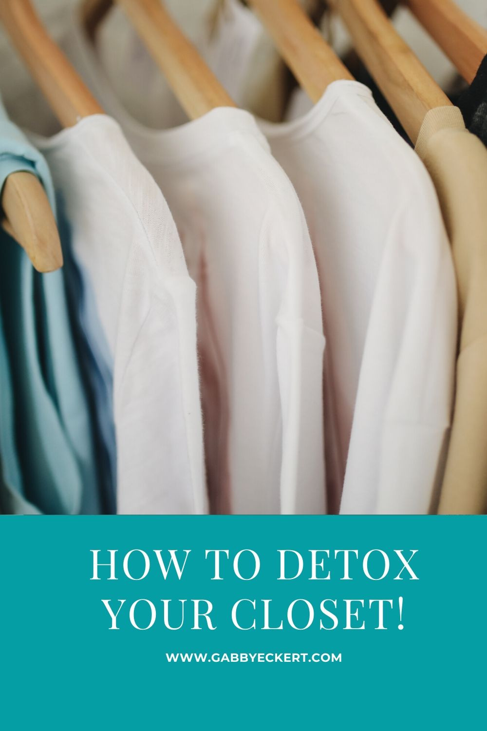 how to detox your closet