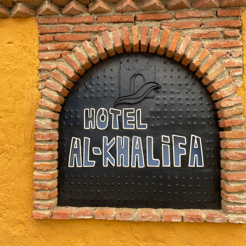 Hotel in Chefchaouen, Morocco
