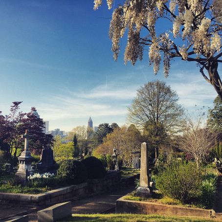 The View from Oakland Cemetery