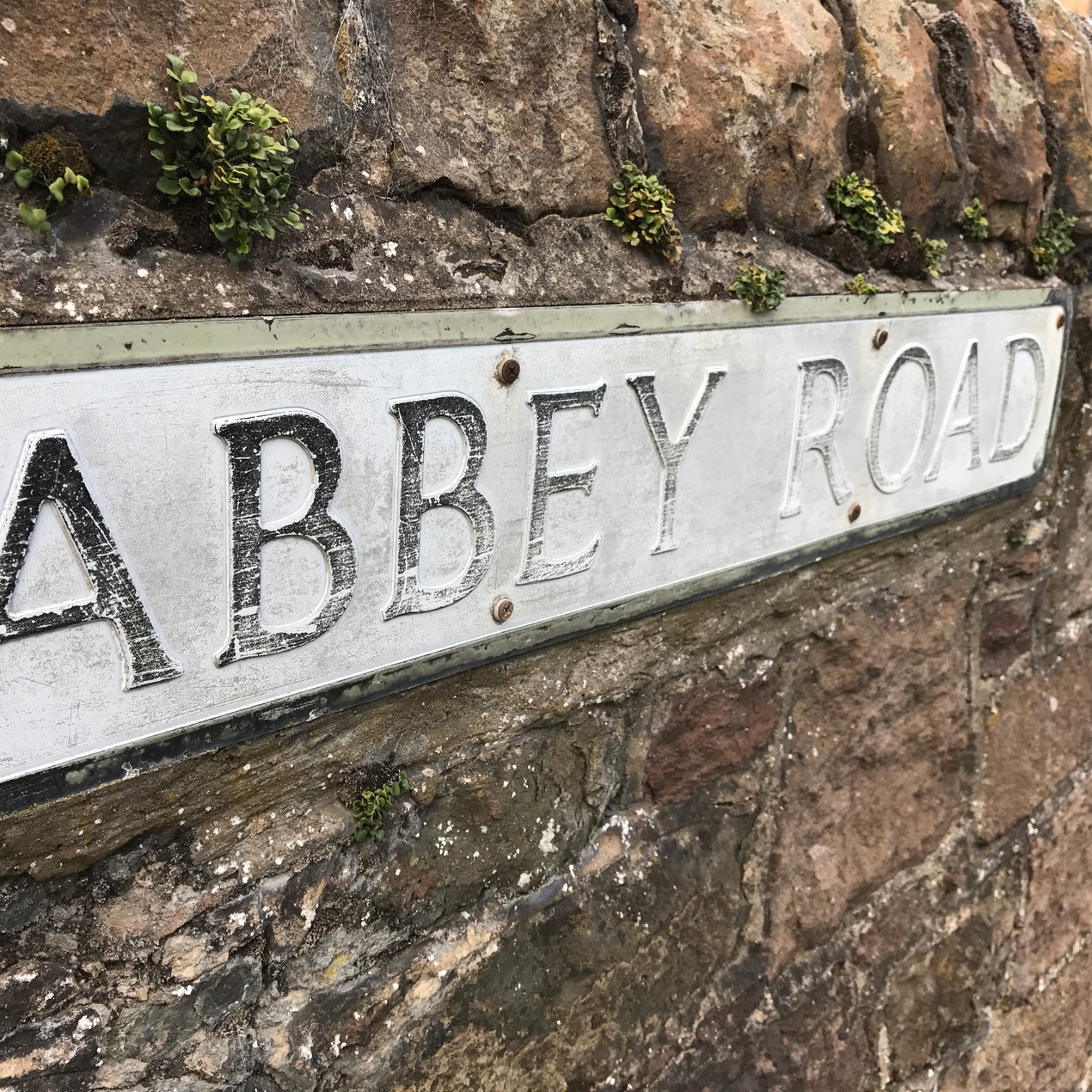 Street sign in England