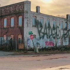 Asheville graffiti corner Photo by Gina Duncan