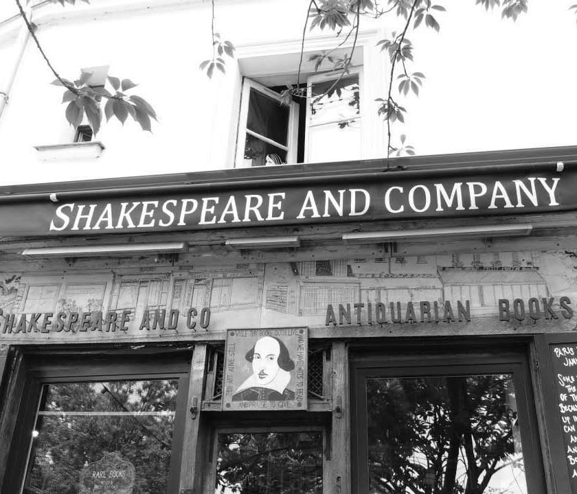 Bookstore in Paris, France