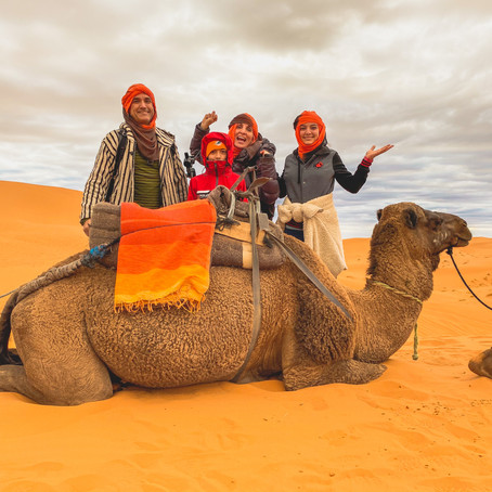 I Followed My Favorite YouTubers to Morocco