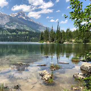 Taggart Lake in Grand Teton National Park. Photo by Martha Sanderson