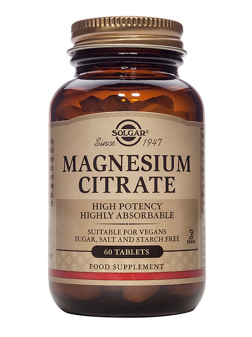 Magnesium Citrate Tablets