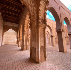 Tinmel Mosque is one of the few mosques non-muslims can visit in Morocco.  Photo by Gina Duncan
