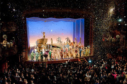 Curtain Call at the tenth anniversary performance of Disney's The  Lion King  at the Lyceum Theatre,