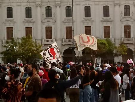 Antifa llegó al Perú