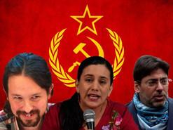 """""""La Vero"""" se reúne con comunistas de España y Chile"""