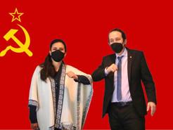 Mendoza, se reúne en persona con comunista podemita Pablo Iglesias en Bolivia
