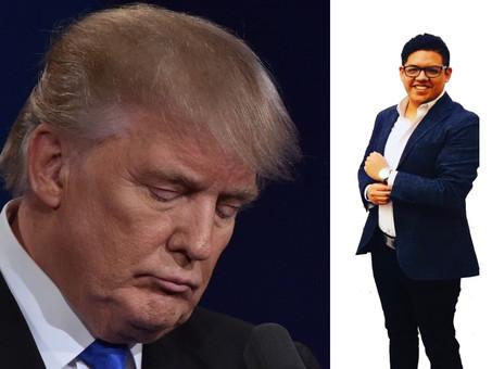 ¡Con la frente en alto Donald!