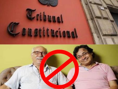 """TC rechaza """"matri gay"""" en caso Ugarteche"""