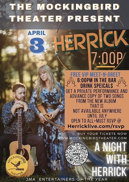 herrick mocking bird vip poster.png