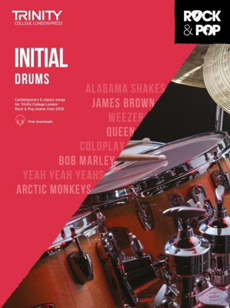 Trinity College London Rock & Pop 2018 Drums Initial Grade (Drums)