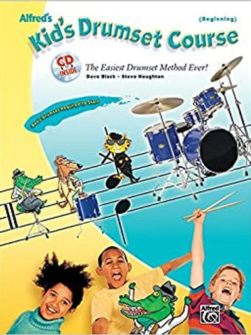 Kids Drumset Course Bk/CD (Percussion)