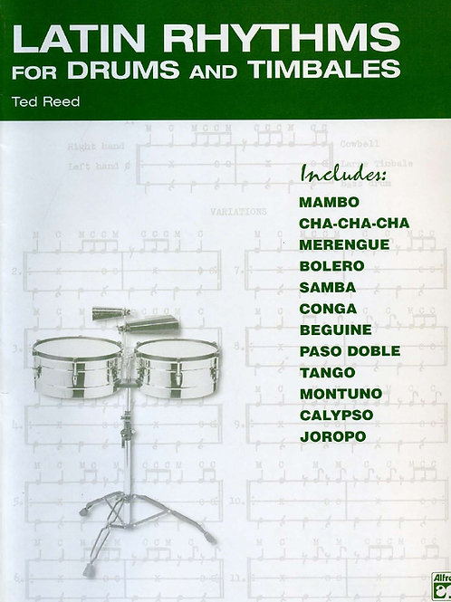 Latin Rhythms for Drums and Timbales (Percussion)