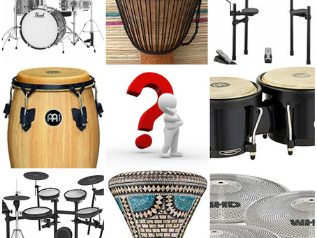 How to choose your first drum instrument ?
