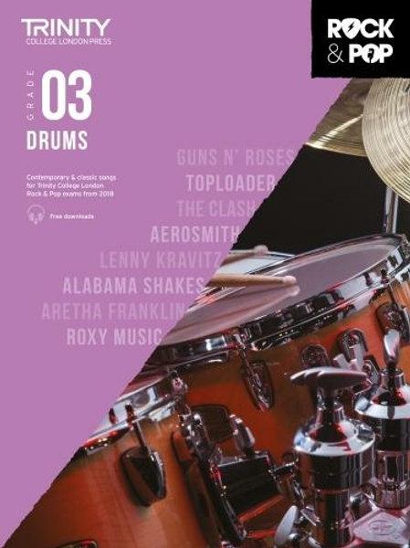 Trinity College London Rock & Pop 2018 Drums Grade 3 (Drums)