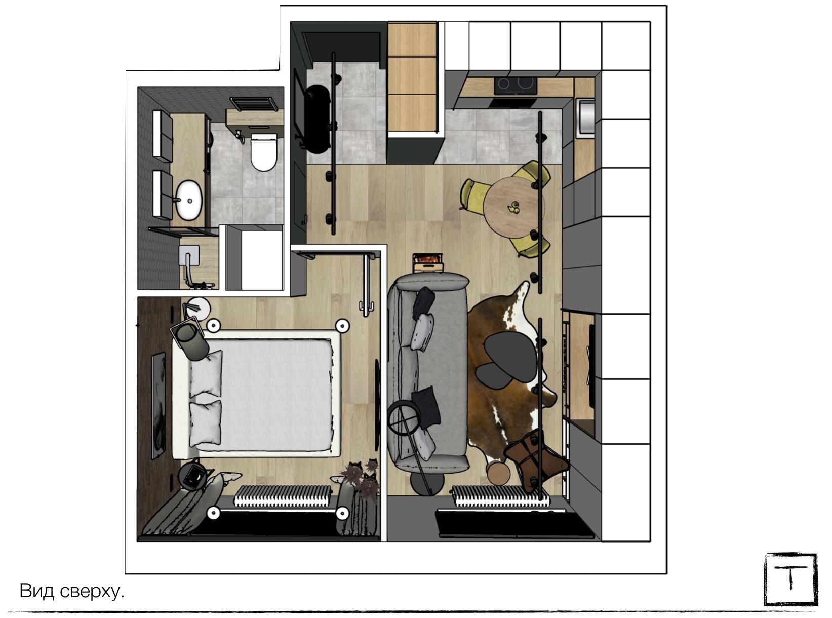 Планировка квартиры жк ясный