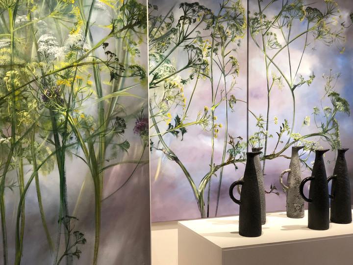 """Выставка CLAIRE BASLER """"природа жизни"""" 2018"""