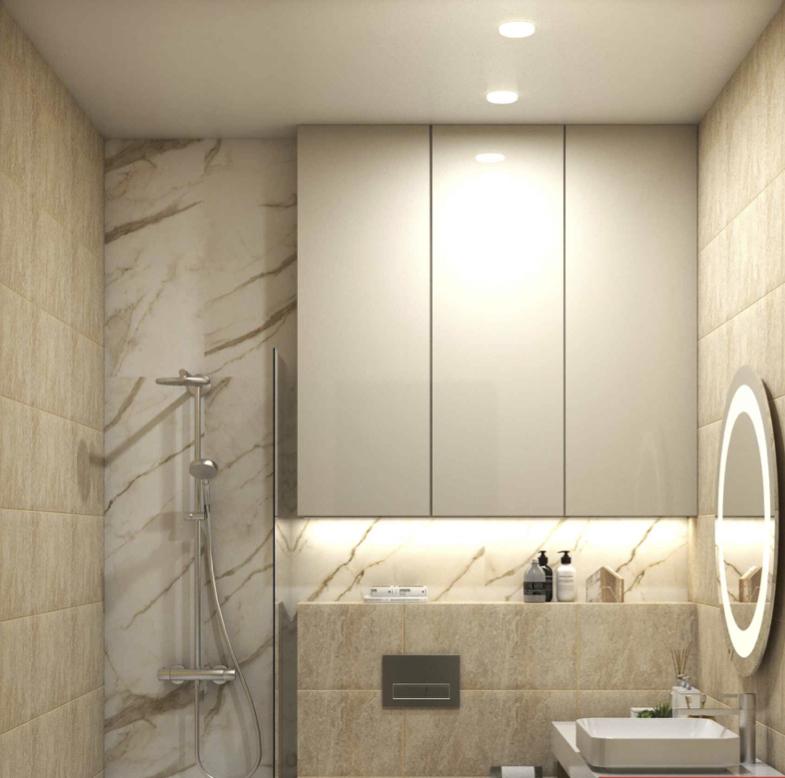 Ванная комната ЖК Лефортово парк
