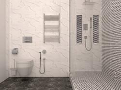 Ванная комната ЖК Маршала Захарова