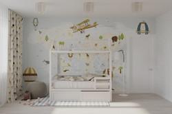 Детская комната Каширское шоссе 84к1