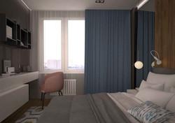 Спальная комната 2 ЖК Маршала Захарова