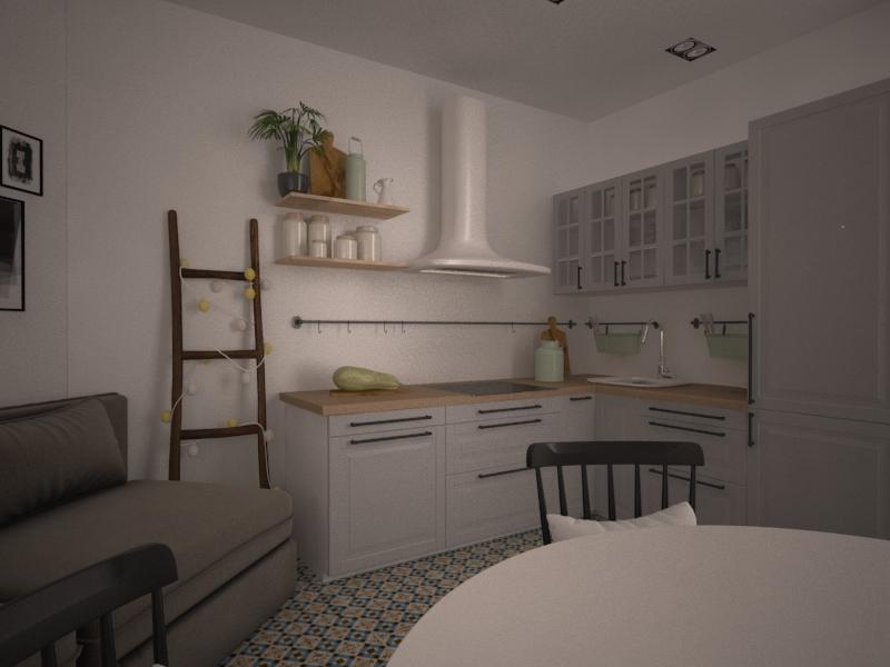 Кухня ЖК Клубный