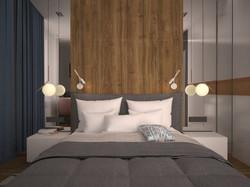 Спальная комната ЖК Маршала Захарова