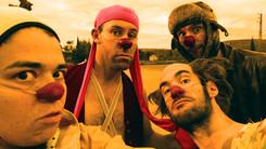 Quatuor de clowns