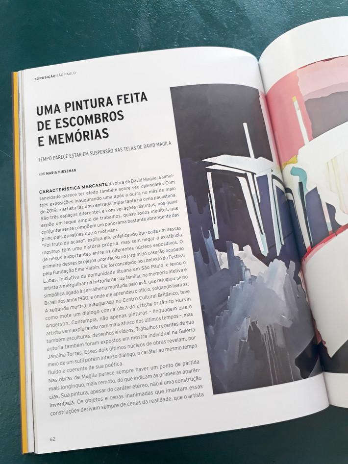 Matéria na Arte!Brasileiros #47