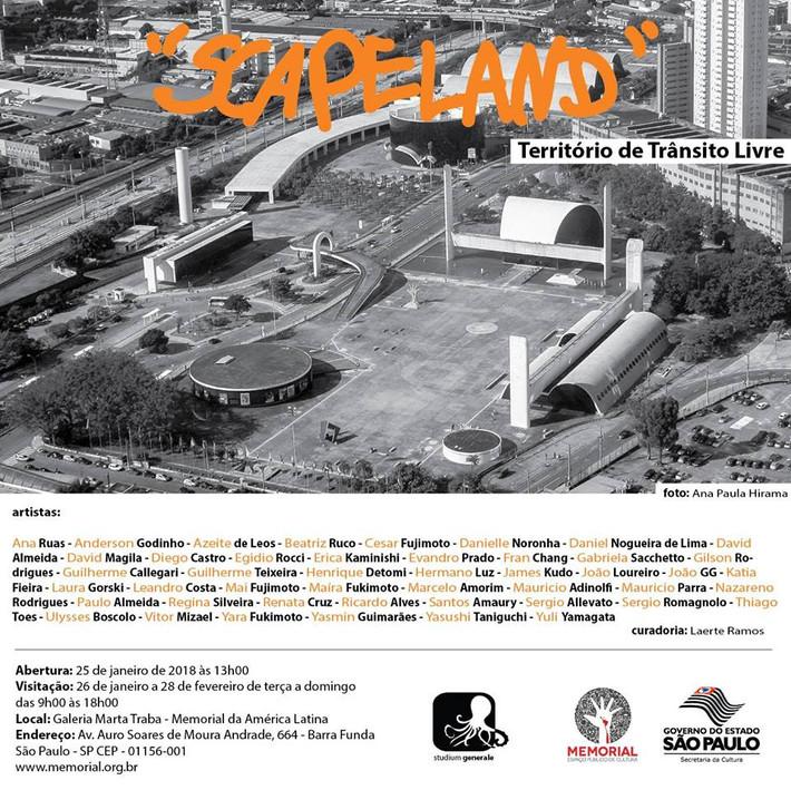 Scapeland: Territórios de Trânsito Livre
