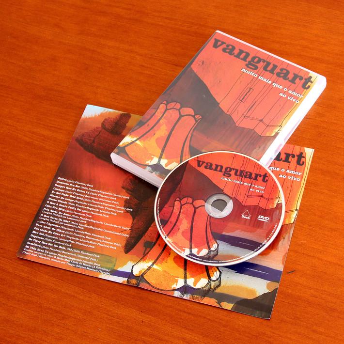 DVD Vanguart Ao Vivo - Ilustração