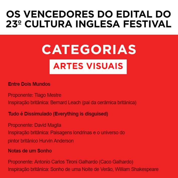 23º festival Cultura Inglesa