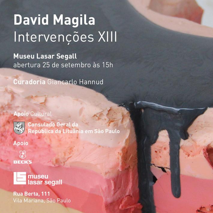Intervenções XIII: David Magila