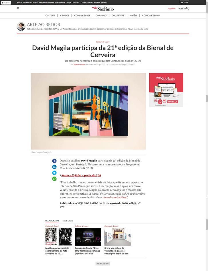 Veja São Paulo - Bienal de Cerveira