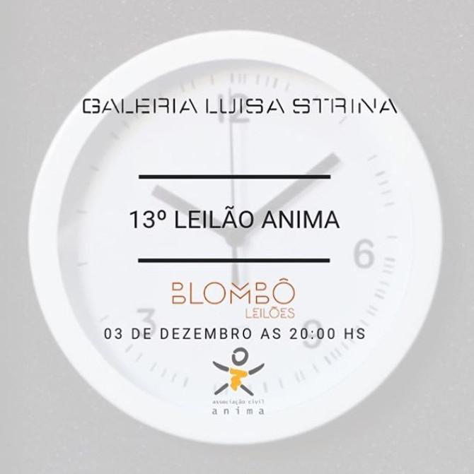 Leilão Galeria Luisa Strina