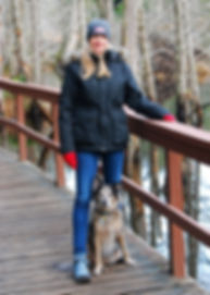 andrea and coco at smuggler cove 2.jpg
