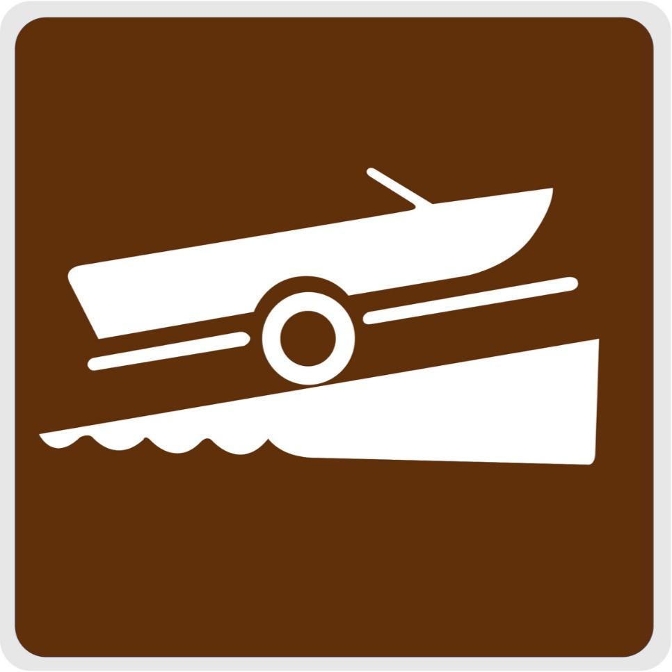 boat loading sign