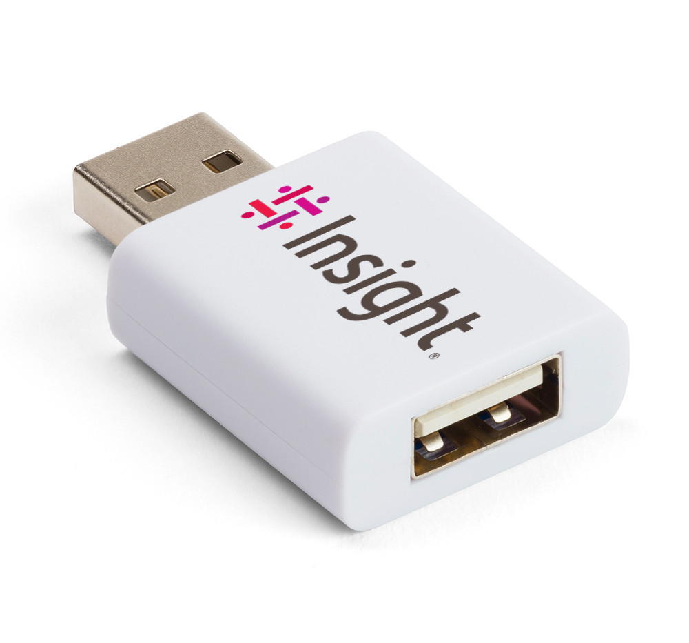 usb data blocker white quarterview insig